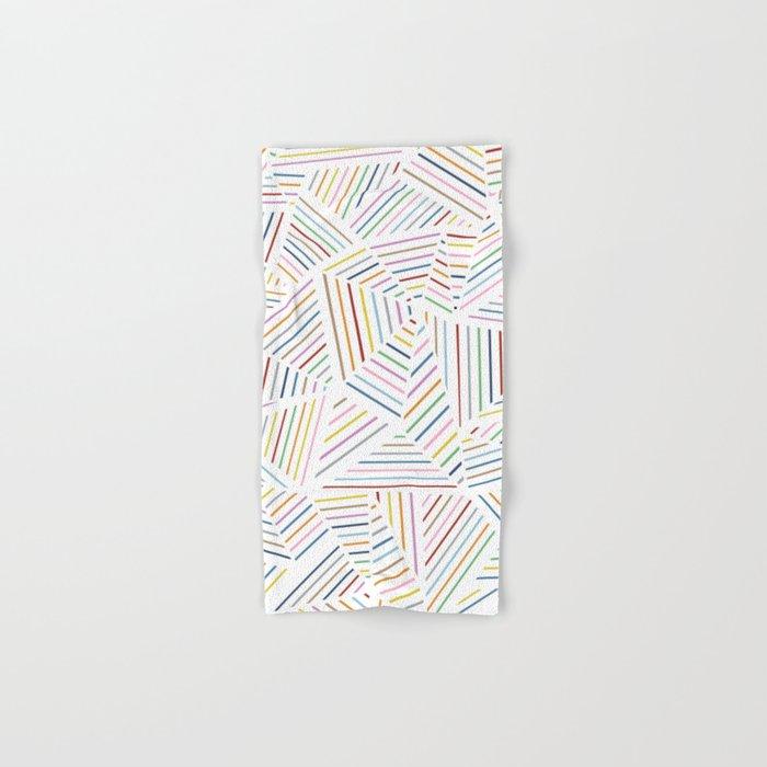 Ab Linear Rainbowz Hand & Bath Towel