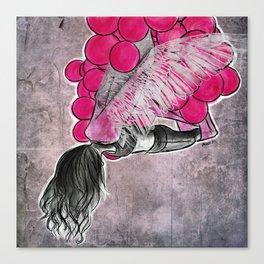 aerial yoga balloon wings Canvas Print