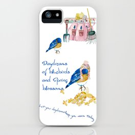 Daydreams of Spring iPhone Case