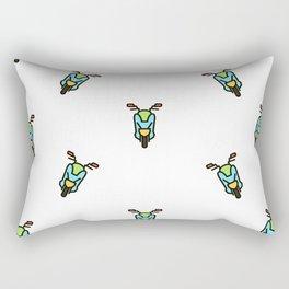 Scooter pattern Rectangular Pillow