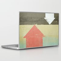 arrows Laptop & iPad Skins featuring Arrows by Metron
