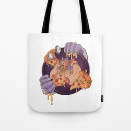 Greasy Pizza Time Tote Bag