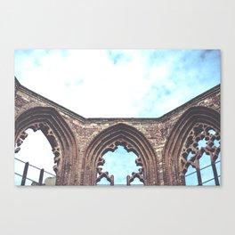 Sky Ruin Canvas Print