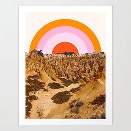 Alentejo Rainbow Art Print