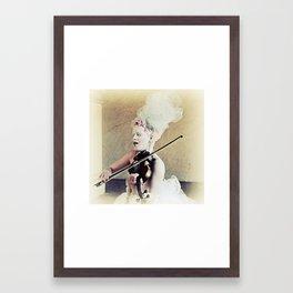 In her own voice Framed Art Print