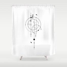 Celestial Lance Shower Curtain