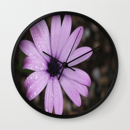 Bejewelled Beauty Poetry in Motion Wall Clock