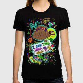 JB the Sporty Chocolate Poodle T-shirt