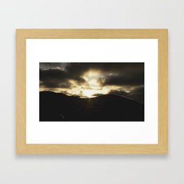 Heaven + Earth Framed Art Print