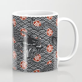 Hidden Dragon / Oriental dragon design Coffee Mug