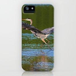 A Blue Ballet II iPhone Case