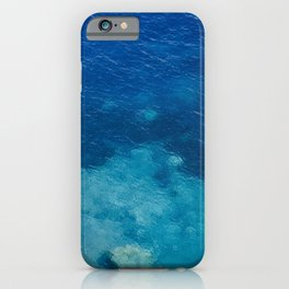 Sea with Clear Blue Waters iPhone Case