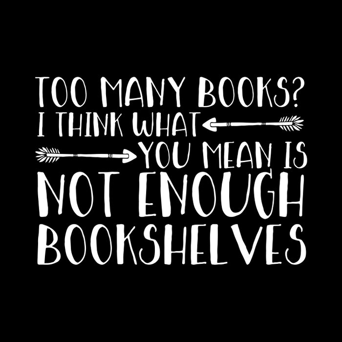 Too Many Books? (Arrows - Inverted) Comforters