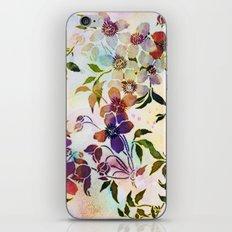 garland of flowers iPhone Skin