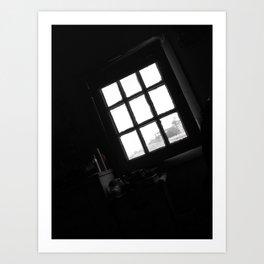 Windows in my heart I Art Print