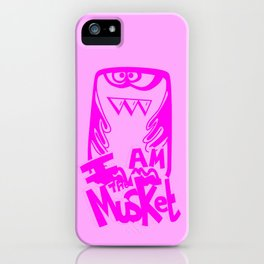 I AM THE MUSKET - PINK iPhone Case
