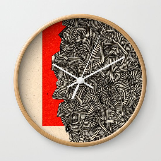 - metro - Wall Clock