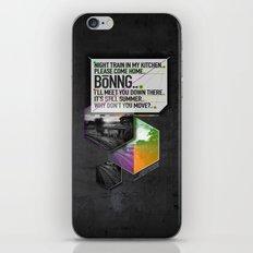 Bönng I iPhone & iPod Skin