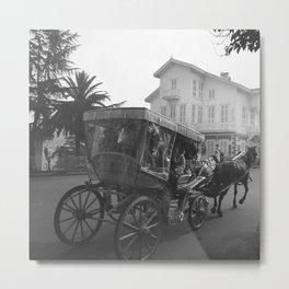 Horse & Carriage, Princes Island, Istanbul Turkey, Art Photography Print  Metal Print
