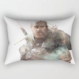 Geralt of Rivia Rectangular Pillow