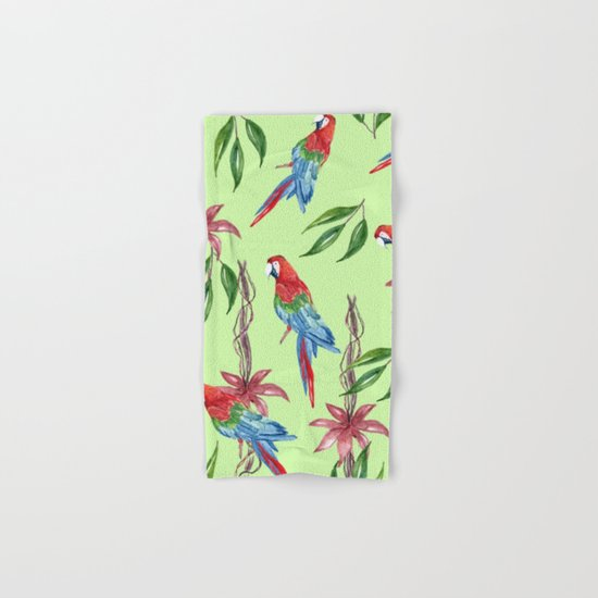 Tropical Summer #2 Hand & Bath Towel