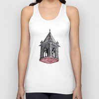 architecture Tank Tops featuring Fleshy Architecture  by J.P Ormiston