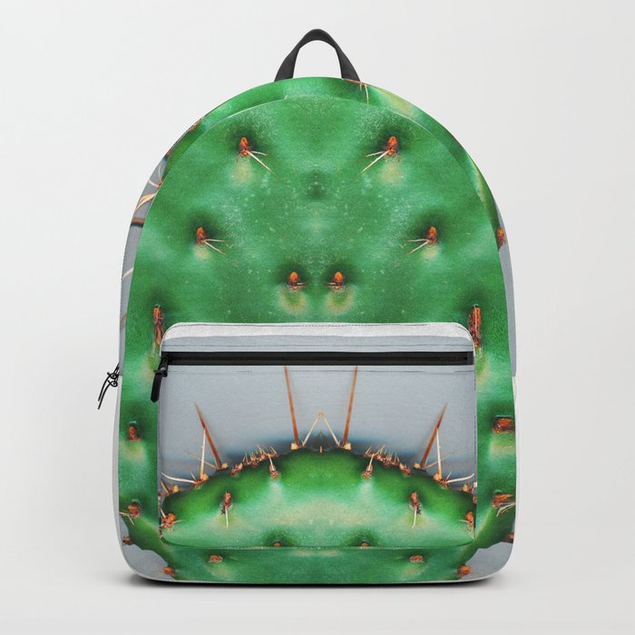 Prickly Pear Cactus Pad Backpack