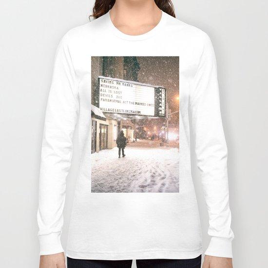 New York City Snow Long Sleeve T-shirt