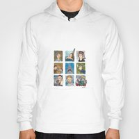 jaws Hoodies featuring Jaws by Steven Learmonth