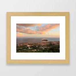 Vila Franca do Campo Framed Art Print