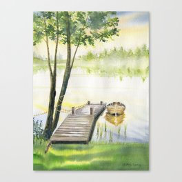 A Little Peace of Mind Canvas Print