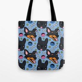 Pip & Lyla Blue Tote Bag