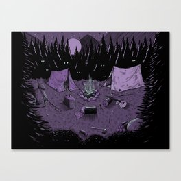 Watchers sketchbook page Canvas Print