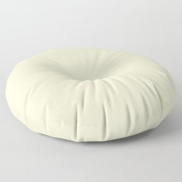 color lemon chiffon Floor Pillow