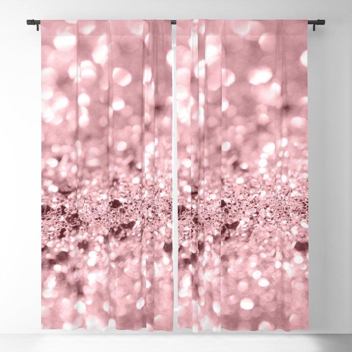0f265e4cc Rose Gold Blush Girls Glitter #1 #shiny #decor #art #society6 Blackout  Curtain