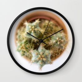 cactus 2 Wall Clock