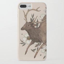Floral Elk iPhone Case