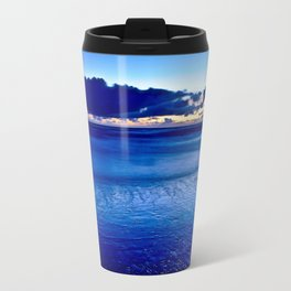 BLUE SILENCE of the SEA Travel Mug