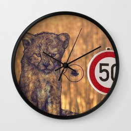 Not my rules Wall Clock