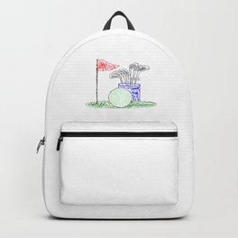 Scribble Golf Backpack