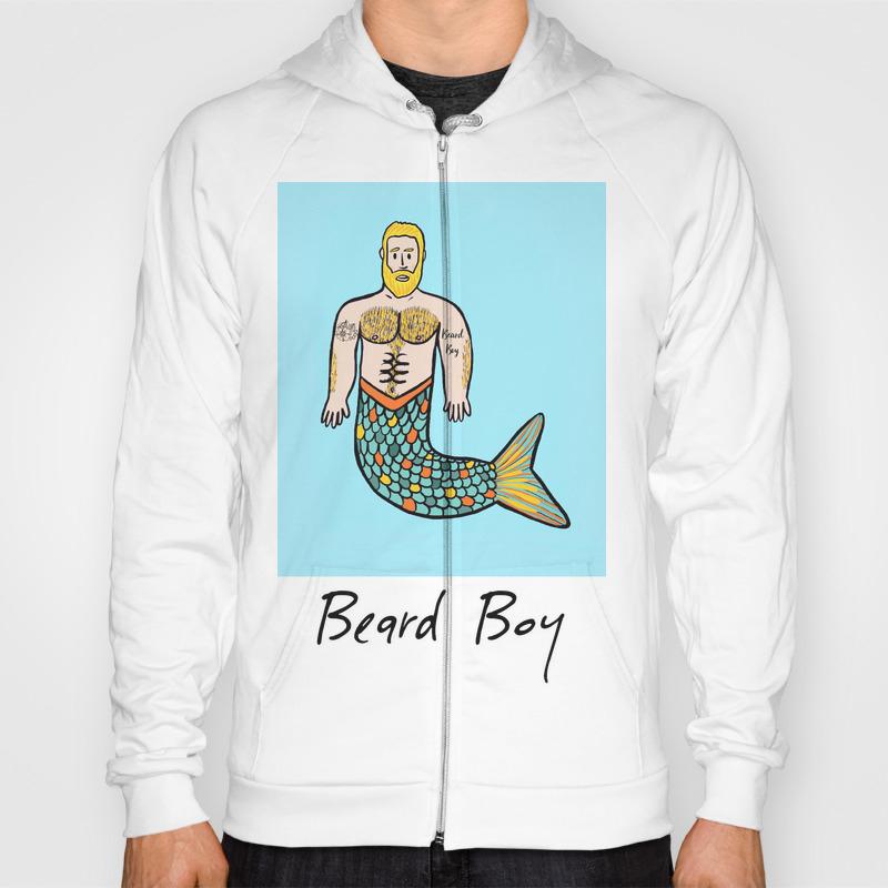 Beard Boy Merman: Flynn Hoody by Beardboy SSR8940261