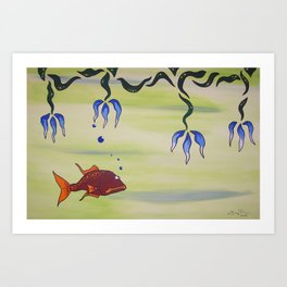 Sloopy Art Print