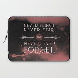 Nevernight - Never Forget Laptop Sleeve