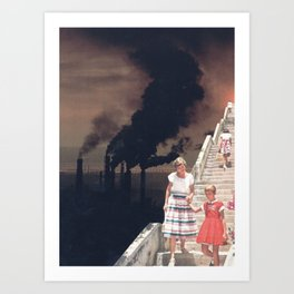 Time To Say Goodbye Art Print