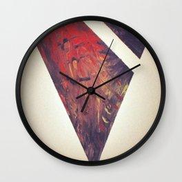 Tribal X Wall Clock