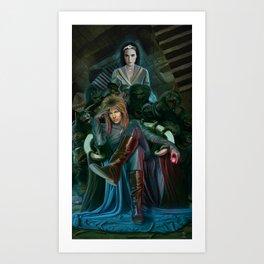 Return To Labyrinth Art Print