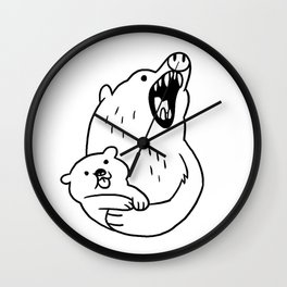LOOK HOW CUTE! Wall Clock