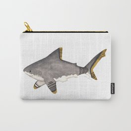 Tribal Shark Carry-All Pouch