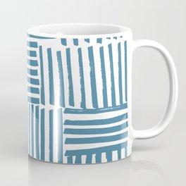 Blue stripes Coffee Mug