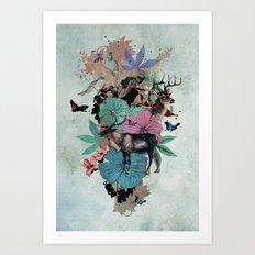 De Natura Art Print